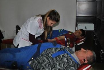 Campanie de donare de sange incheiata cu succes. Angajatii societatii VITAL S.A. au donat sange pentru semenii lor