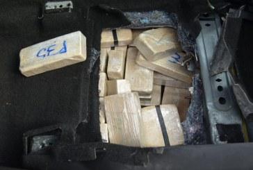 ACTUALIZARE-Traficantii de droguri, olandezi, au fost arestati. 84 de kg de heroina au ajuns in custodia ITPF Sighet