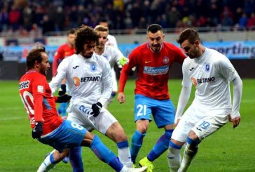 Fotbal – Liga I: FCSB – Universitatea Craiova 3-2, in play-off