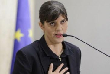 Sectia pentru procurori a CSM a aprobat prelungirea delegarii Laurei Codruta Kovesi la Parchetul General