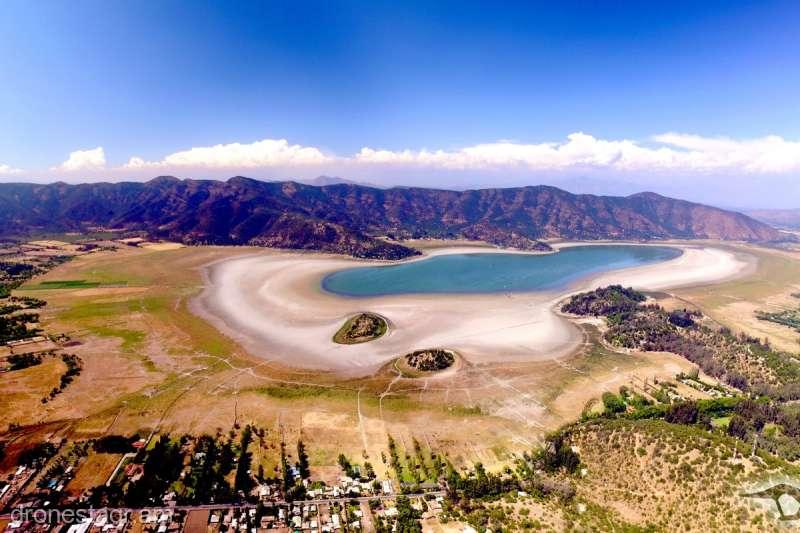 Un lac din Chile, sters de pe harta din cauza secetei