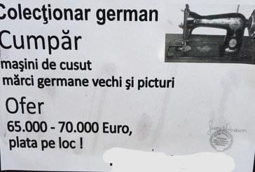 ATENTIE, baimareni! Au reaparut colectionarii germani