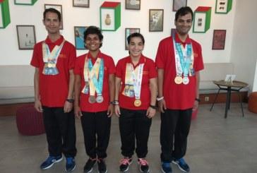Cinci medalii castigate de tinerii maramureseni din sistemul de protectie speciala la Jocurile Mondiale de Vara Special Olympics, Abu Dhabi 2019