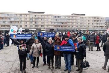 Primaria Baia Mare a avizat protestul, de vineri, din Piata Revolutiei