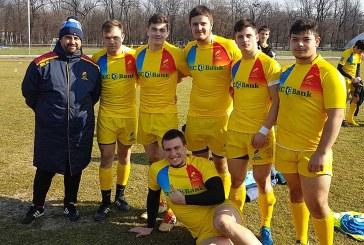 Rugby: Razvan Popovici si sapte sportivi ai CSS 2 Baia Mare in pregatiri pentru Europeanul U18
