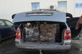 Lapusel: Barbat depistat cu peste 280 de pachete cu tigari in portbagaj