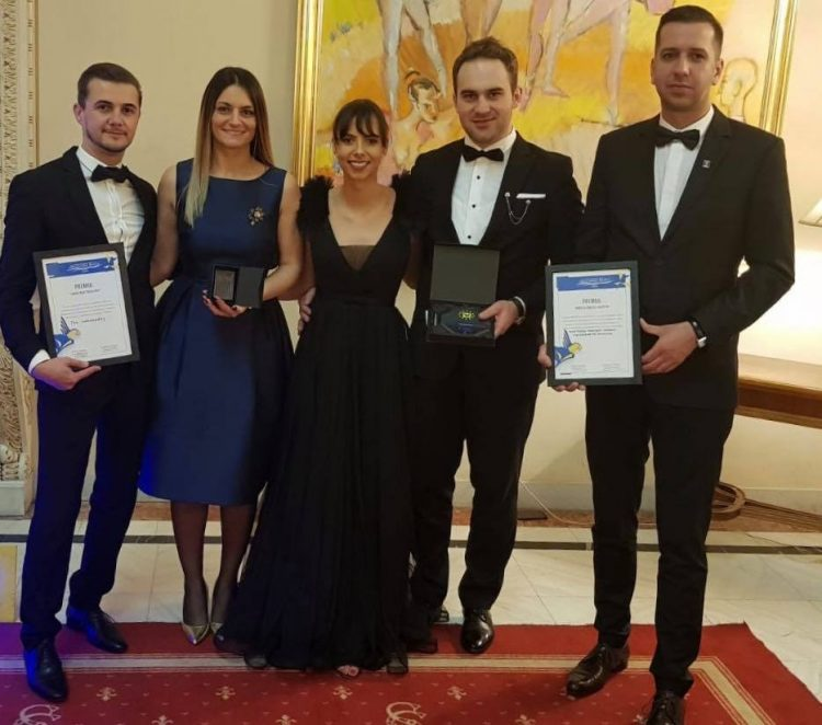 Tinerii liberali maramureseni, premiati la Gala Premiilor TNL