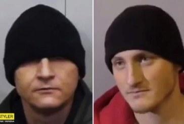Tata si fiu din Ucraina, acuzati ca au facut supa dintr-un politist
