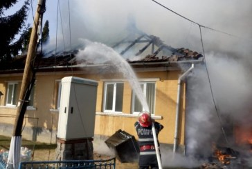 Patru incendii si un accident de circulatie pentru lucratorii de la ISU Maramures, in 24 de ore
