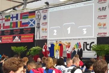 (FOTO)Baia Mare are un campion mondial la Taekwon-do ITF. Alex Ivasuc a cucerit medalia de aur, la Campionatul Mondial din Germania, la tehnici speciale