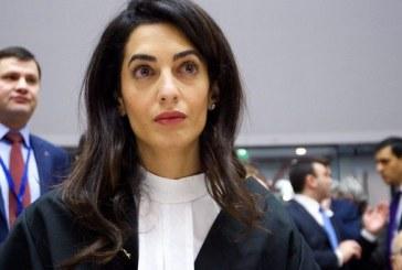 Amal Clooney, desemnata trimis special al guvernului britanic pe problema libertatii presei