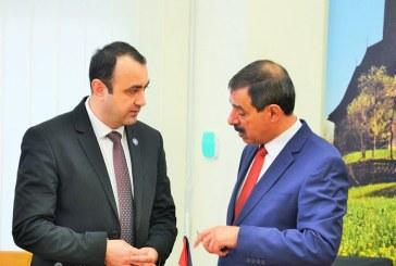 Ambasadorul Palestinei in Romania, vizita in Baia Mare (FOTO)