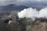 Vulcanul Aso din Japonia a intrat in faza de eruptie