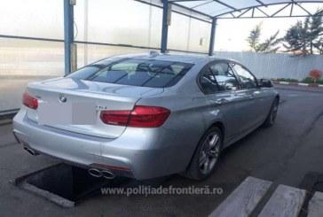 BMW furat din Franta, descoperit la frontiera Sighet
