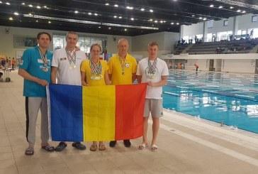 Inot: Rezultatele obtinute de Gold Stars Baia Mare la Danube Cup Master Swimming Club's Cup