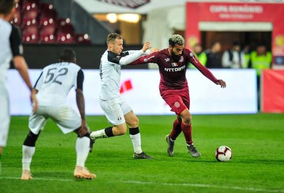 Fotbal – Liga I: CFR Cluj – FC Viitorul 3-1, in play-off