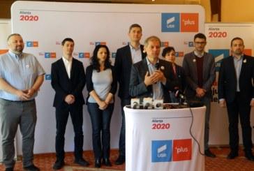"""Liderii Aliantei USR PLUS, in Baia Mare: """"Vrem sa mergem in Parlamentul European nu pentru a pleca din Romania, ci pentru a aduce Uniunea Europeana in Romania"""""""