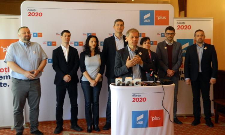 Liderii Aliantei USR PLUS, in Baia Mare: