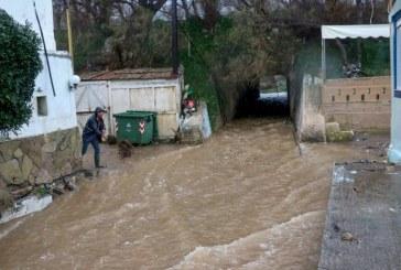 Stare de urgenta declarata in Creta din cauza ploilor abundente si a inundatiilor