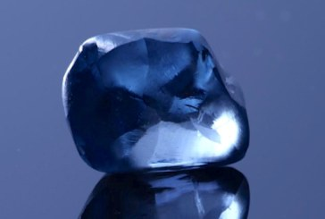 Un diamant albastru rar, de 20 de carate, descoperit in Botswana