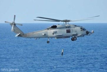 Washingtonul aproba vanzarea de elicoptere antisubmarin catre India