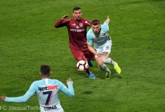 Fotbal – Liga I: CFR Cluj – FCSB 0-0, in play-off
