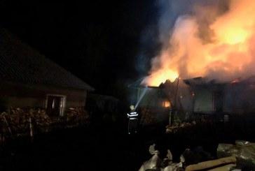 Incendiu la un adapost de animale din Viseu de Jos
