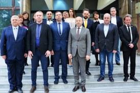 La Palatul Administrativ din Baia Mare au fost primiti membrii comisiei mixte interguvernamentale ucrainiano-romane