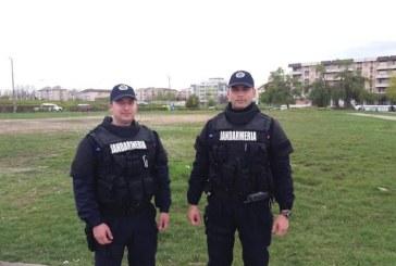 Manifestari sportive supravegheate de lucratorii Jandarmeriei Maramures