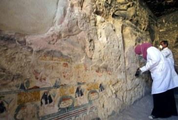 Un vast mormant datand din perioada Noului Regat Egiptean, dezvaluit in Luxor