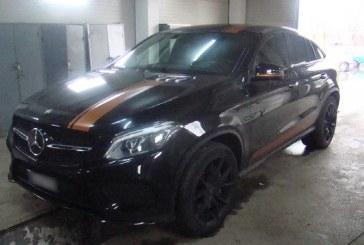 Mercedes, de 74.000 euro, cautat de autoritatile din Germania, descoperit, in aceeasi zi, de politistii de la ITPF Sighetu Marmatiei