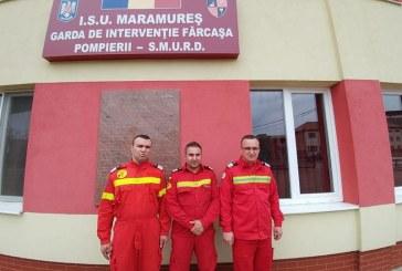 Trei pompieri SMURD din Maramures au salvat o femeie care se afla in stop cardio-respirator