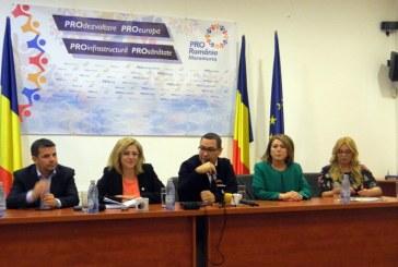 "Victor Ponta, in Baia Mare: ""Romania merge intr-o directie gresita"""