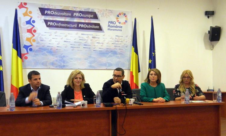 Victor Ponta, in Baia Mare: