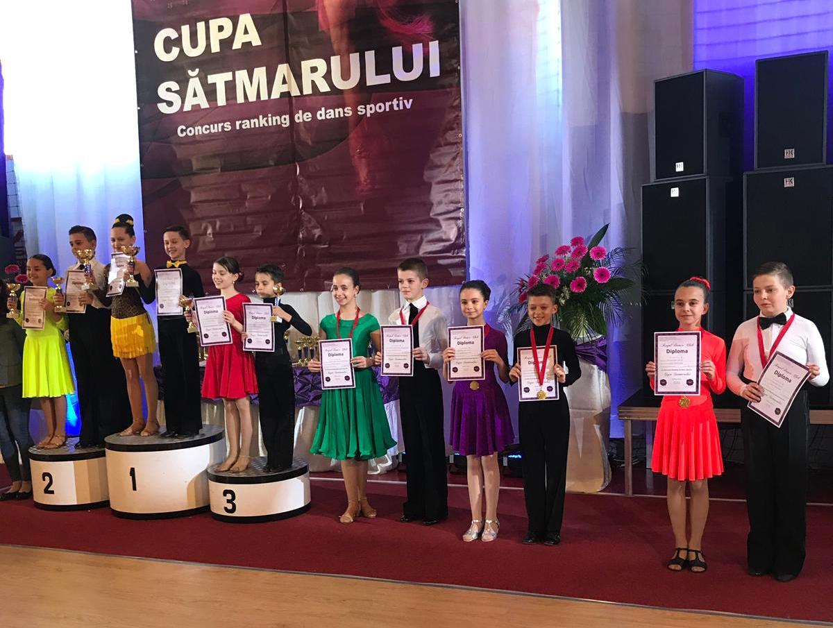 5 medalii si 7 finale pentru sportivii Prodance 2000 la Cupa Satmarului