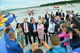 Zilele Maramuresului: Premierul Viorica Dancila, vizita de lucru la Aeroportul International Maramures