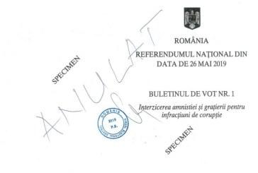 Maramures: Cum votam la alegeri si care sunt intrebarile de la referendumul pentru justitie. Vezi cum arata buletinele de vot