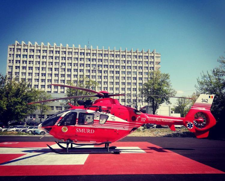 Maramureseanca transportata la Cluj cu elicopterul SMURD. Afectiunea pacientei are o frecventa de 14 cazuri la 10.000 indivizi