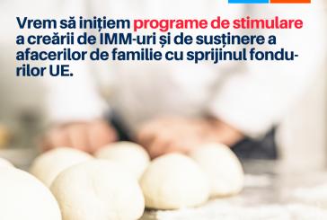 Alianta 2020 USR PLUS va promova in Parlamentul European masuri in sprijinul antreprenorilor