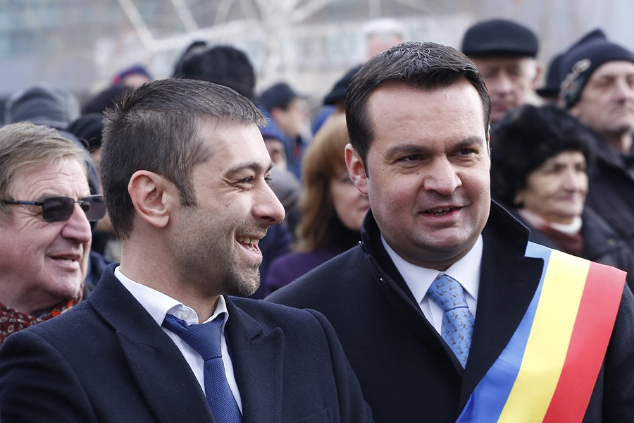 VICTORIE! Cuplul care a demolat sondajele. In Baia Mare, PSD se bate pentru locul III. Chereches, asteptat sa isi ridice tabla alba uitata la sediul social-democrat