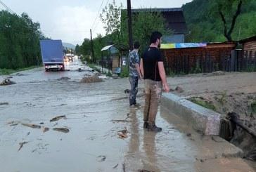 11,4 milioane lei pagube produse de inundatii in Viseu de Sus