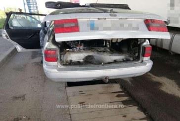 Ucrainean lasat fara marfa de contrabanda de cainele Politiei de Frontiera. Acesta nu mai poate intra in Romania timp de 5 ani
