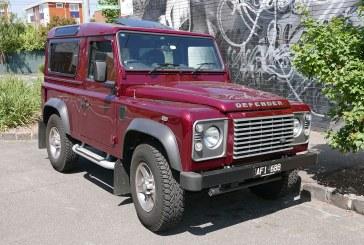 Jaguar a decis sa produca viitorul model Land Rover Defender in Slovacia