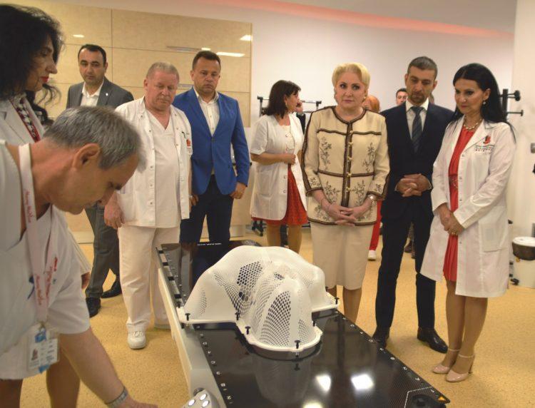 Zilele Maramuresului: Primul-ministru al Romaniei, Viorica Dancila a vizitat cele doua spitale aflate in subordinea Consiliului Judetean Maramures