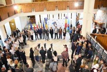 Delegatiile straine invitate la editia a V-a a Zilelor Maramuresului au fost primite la Palatul Administrativ din Baia Mare
