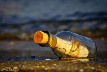 Un mesaj in sticla lansat la apa de o fetita din Scotia a calatorit aproape 500 km pana in Norvegia