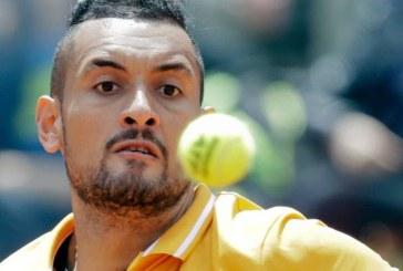 Tenis: Nick Kyrgios a fost amendat cu 20.000 de euro dupa izbucnirea sa din timpul turneului de la Roma