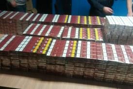 Contrabandă cu țigări la Ulmeni