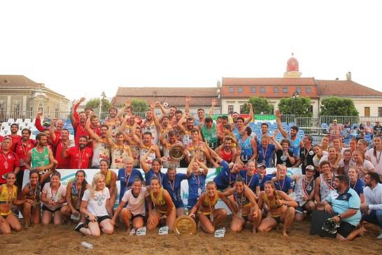 Pinturas Andalucia BM Playa Sevilla si Club Balonmano Playa Algeciras, campioanele EBT Finals 2019 (FOTO)