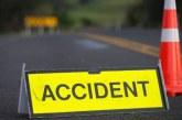Un tânăr maramureșean s-a răsturnat cu autoturismul pe câmp